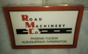 Vtg Road Machinery Company of Arizona Redi Slip Playing Cards Factory Sealed