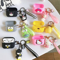 Super Lucky 3D Kitty Earphone Skin Case For Apple AirPods Pro 3 Charging Cover