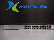 D-Link DGS-3100-24P 24-Port L2 Managed Gigabit PoE Switch w/ RACK EARS INCLUDED