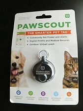Pawscout The Smarter Pet Tag Community Pet Finder and Alerts Bluetooth Black
