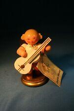 Erzgebirge Ulbricht Musical Angel Germany Christmas Figurine Guitar #1
