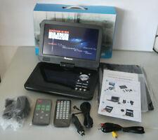 "10.1"" Tragbarer DVD Player / Akku / Kopfstütze Monitor USB SD AV-IN 2xFB"