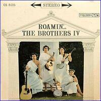 "ROAMIN' with THE BROTHERS IV 12"" LP Orig Press 1961 Columbia CS 8425 Folk VG+"