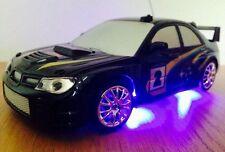 SUBARU IMPREZA WRC Remote Control Car FAST SPEED DRIFT CAR BLACK GIRLS BOYS TOYS