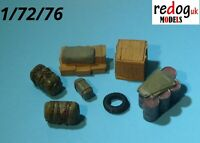 Redog 1/72 resin modelling military accessories - vehicle/diorama cargo kit /c4