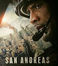 Dwayne Johnson Signed Autographed San Andreas Movie Poster AUTHENTIC The ROCK