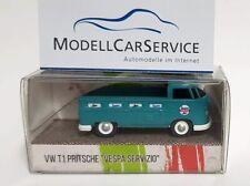 """WIKING Special Model 1/87 : VW T1b Flatbed Truck """" Ape Vespa Servizio """" -"""