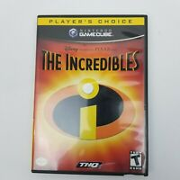 Nintendo GameCube - Incredibles Complete with game disc manual case coverart