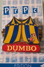 Disney Pin 114208 February 2016 Park Pack Dumbo Hinged Variation 1 Le 750 Noc