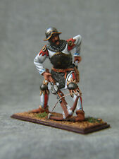 Crusader crossbowman. Knight of the Teutonic order. Elite tin soldiers 54 mm