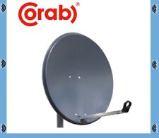 Corab Satellite Dish 80CM & Pole Mount Fittings for Freesat Astra Hotbird Thor