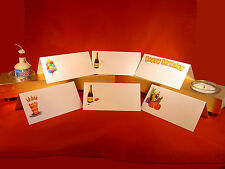 24 Birthday Party Place Name Meal Setting Cards