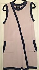 CHANEL SEXY RUNWAY ICONIC CASHMERE DRESS SZ 44