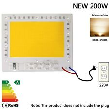 200w warm white led chip smart ic flood light integrated cob spot lamp 220V 230V