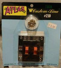 New  Atlas #210 Twin Switch Custom Line  -Auct12