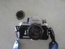 Nikon F 35mm Camera One Owner Plus Extras , LOOK!! Lenses, bag, etc.
