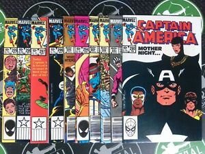 Captain America Lot Of 80 Issues! 1984-1992 Marvel Comics Avengers US Agent