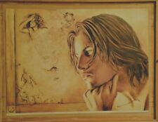 "Affiche d'ARTISTE  "" MICHEL GILIBERTI ""   50 x 67 cm"