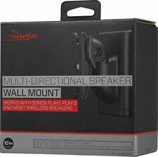 Rocketfish Multi-Directional Speaker Black Wall Mount for Sonos Play 1 & 3