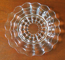 "Cambridge Cascade Crystal Clear 6 5/8"" Bread & Butter Plate(s)"