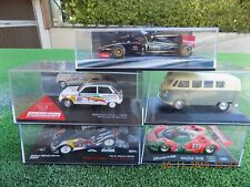 CHOLLO LOTE 5 COCHES 1:43, F1 MINICHAMPS, RALLY, ETC.