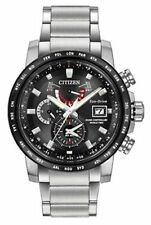 Citizen Men's Eco-Drive World Time AT Stainless Steel Watch AT9071-58E