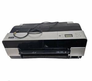 Epson Stylus Pro 3800 Printer *For Parts/Repair* No Maintenance Cover