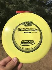 Innova Star Lite Valkyrie 150g 6/10 Bright Yellow Penned Pre Embossed
