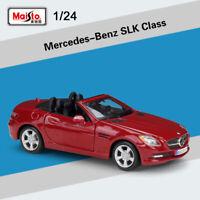 Maisto 1/24 Car Diecast Model Toy Mercedes-Benz SLK-Class Open Top New In Box