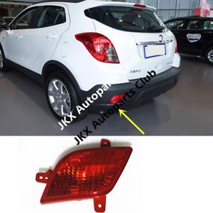 For Buick Encore 13-15 Left Hand Side Red Lens Reflector Rear Fog Light TailLamp