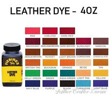 Fiebings Leather dye 4oz (118ml) - all colors