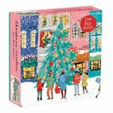 Christmas Carolers Square Boxed 1000 Piece Puzzle (2019, Game)