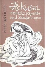 Hokusai 46 Holzschnitte Und Zeichnungen - R. Piper & CO Verlag Munchen 1954
