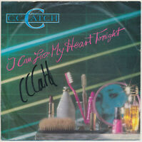 "C. C. Catch - I Can Lose My Heart Tonight  - 7"" Single - Coverhülle SIGNIERT"