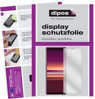 3+3x Sony Xperia 5 Film de protection d'écran protecteur clair dipos