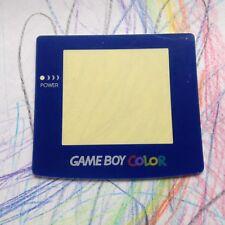 Azul Nintendo Gameboy Color Lente de Pantalla de reemplazo