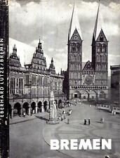 RARE 1953 GERMAN DEUTSCH BREMEN MIT 72 PRINTS PHOTOGRAPHS GOTHIC ARCHITECTURE DJ