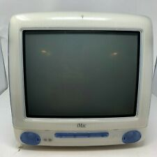 Apple iMac M5521 Vintage Computer + Extras Tested Blue G3/450 DV+ 20 GB 450 MHz