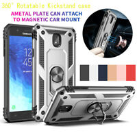 For Samsung Galaxy J3 V 2018/Star/Amp Prime 3 Hybrid Hard Armor Kickstand Case
