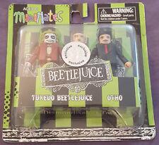 BEETLEJUICE MiniMates Figurines - Tuxedo Beetlejuice and Otho - mix and match