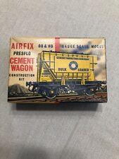 Vintage Airfix OO & HO Gauge Scale Model Presflo Cement Wagon Kit Series 1