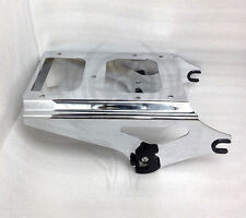 Chrome Detachable Two Up Tour Pak Pack Mounting Rack for Harley Touring 2009-13