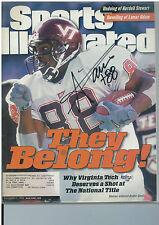 ANDRE DAVIS signed Sports Illustrated Magazine 12/06/99