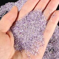 5000Pcs Amethyst Tumblestones Mini Chip Crystal Gemstone Stones Bulk 1mm-3mm