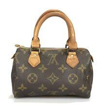 100% authentic Louis Vuitton mini Speedy handbag M41534 Used 10-4-a@1b