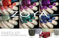 Zoya Pixie Dust Polish 0.5 oz ( Choose Your Color )