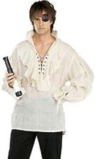Men's Jack Sparrow Pirate Medieval Renaissance Period Fancy Dress Costume