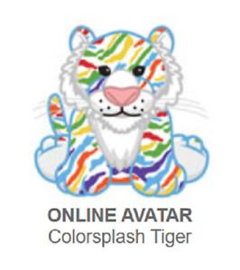 Webkinz Classic Colorsplash Tiger *Code Only*