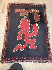 Insane Clown Posse Knit Afghan Blanket & Pillow Hatchet Man Psychopathic Records