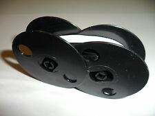 Sears Blk/White Correcting Typewriter Ribbon For Most Sears Twin Spool Models